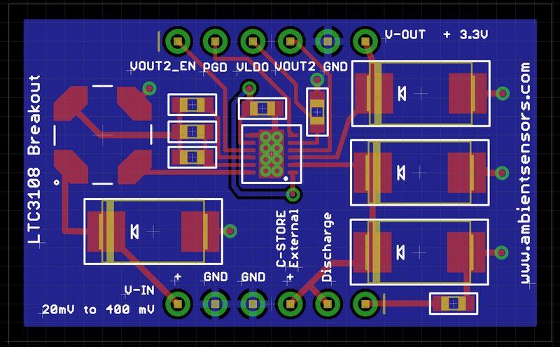 LTC3108 board